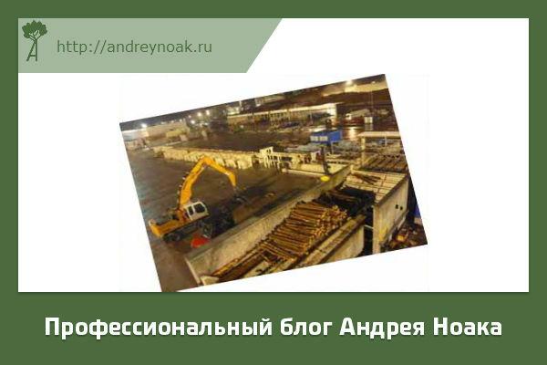 Деревообрабатывающий завод в Польше