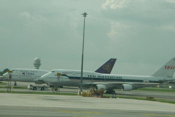 В аэропорту Тайланда