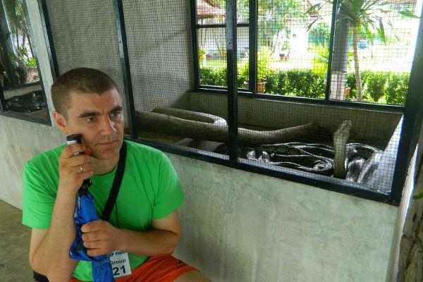 Фото со змеями