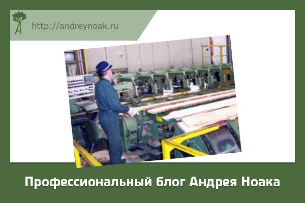Рабочее место оператора кромкообрезного станка