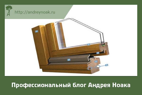 Деревянный стеклопакет